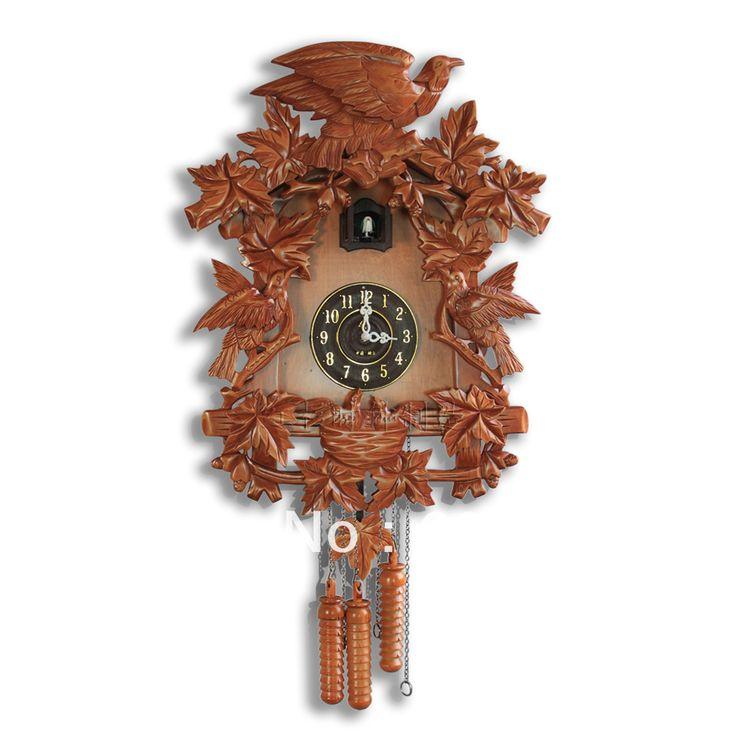Cuckoo Clock Photoswitchable Googoo Timekeeping Clock Wood Sculpture Fashion Rustic ry218 - http://www.aliexpress.com/item/Cuckoo-Clock-Photoswitchable-Googoo-Timekeeping-Clock-Wood-Sculpture-Fashion-Rustic-ry218/935710526.html