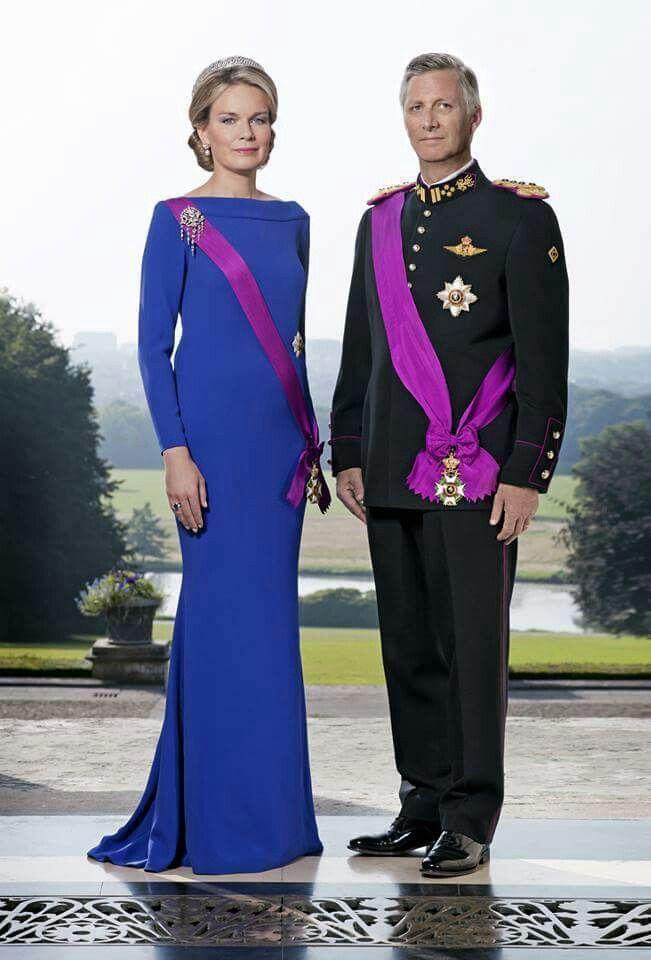 Roi Philippe et la Reine Mathilde