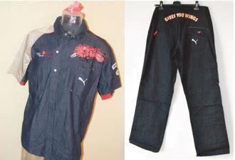 Toro Rosso F1 Team > Uniform instellen Shirt & broek - Team alleen!  Voor aanbod is een set van een Toro Rosso Raceday Shirtsamen met de montage van de broekBeide gemaakt door Puma!Broeken: Grootte: U.S. / UK 37 / / D 54Shirt: Maat LZullen sendet traceerbaar en verzekerd!  EUR 15.00  Meer informatie