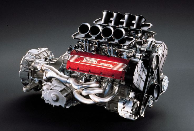 The Ferrari 355 Engine Is Arrestingly Beautiful