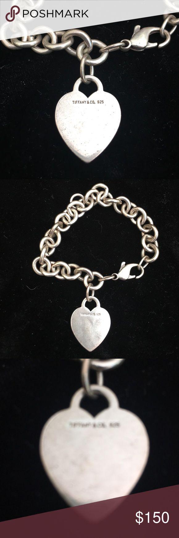 Authentic Tiffany and Co. charm bracelet. Authentic Tifffany and co. Charm bracelet. Silver with heart charm. Tiffany & Co. Jewelry Bracelets