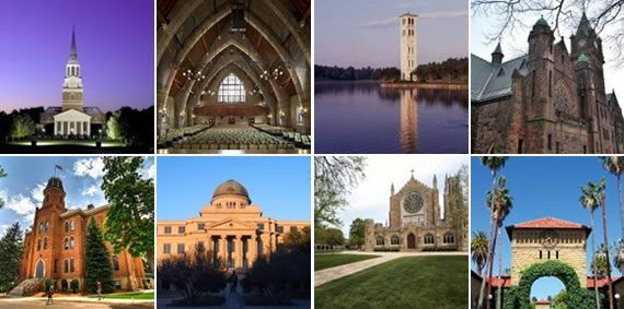 50 Most Amazing College Campuses