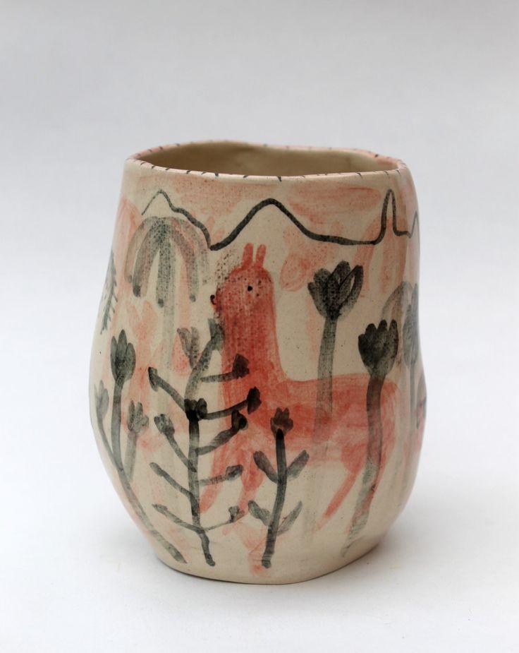 Alex Sickling hand-painted ceramics.
