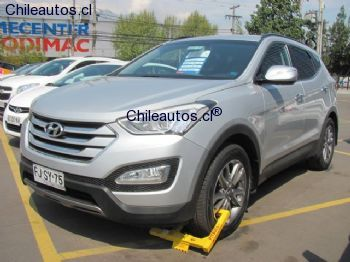 Chileautos: Hyundai SANTA FE 4X4 AT 2013 $ 13.780.000