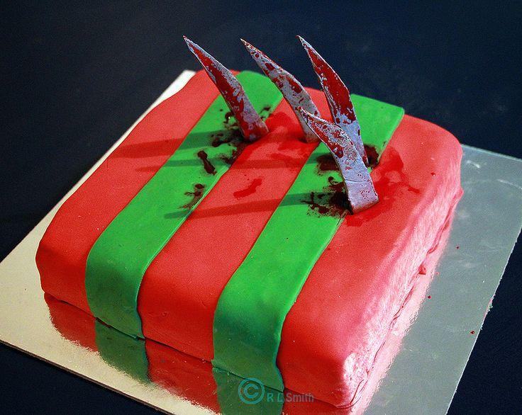 My Freddy Krueger cake | Freddy Krueger is bae | Pinterest ...