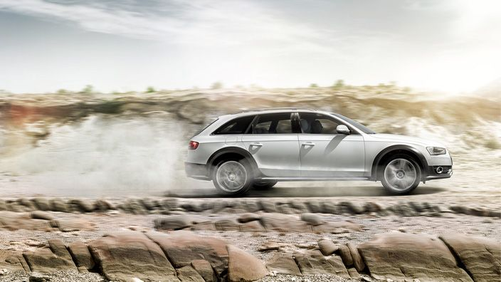 One glance and you know who you are dealing with. A real character with many facets. A vehicle that not only impresses with its powerful appearance, but also one that is prepared to put its power to the test. The Audi A4 allroad quattro lets you feel the effect of the quattro permanent all-wheel drive on almost any road. Source: Audi AG