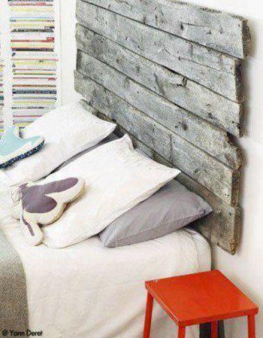 Les 25 meilleures id es de la cat gorie t te de lit en bois flott sur pinter - Tete de lit en bois flotte ...