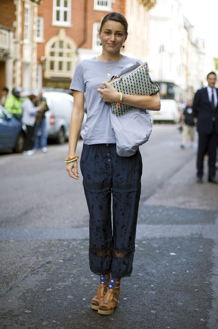 Grey and Blue | Street Fashion | Street Peeper | Global Street Fashion and Street Style