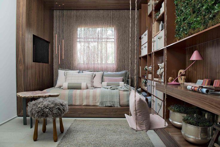 Cama plataforma - veja modelos e quartos lindos com essa tendência! - DecorSalteado