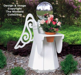 Do it yourself garden art do it yourself garden art do it yourself the winfield collection angel glazing ball stand pattern garden artgarden ideasgarden projectsdiy solutioingenieria Images