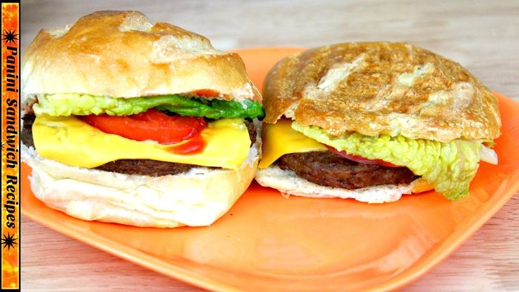awesome How to Cook Burgers on a Panini Grill ✹Panini  Maker Recipes (Ep2)