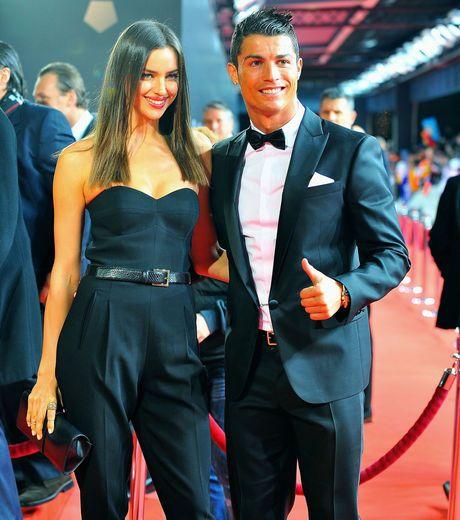 Irina Shayk et Cristiano Ronaldo, le couple le plus glamour du Ballon d'Or 2012