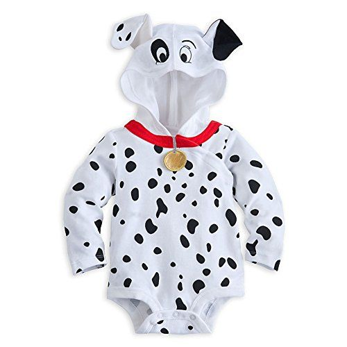 Disney Store 101 Dalmatians Hooded Onesie Costume Bodysuit Size 6-9 Months @ niftywarehouse.com