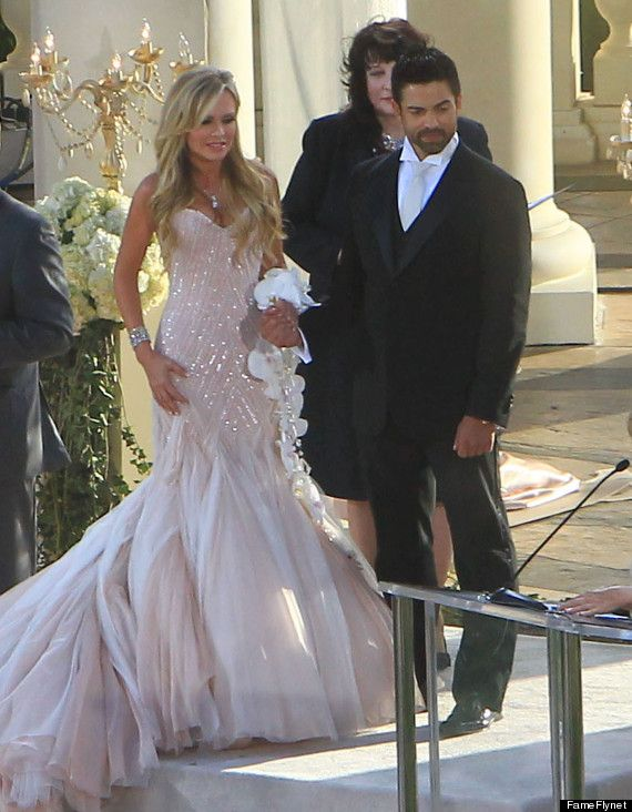 tamra barney gorgeous wedding dress