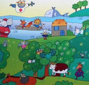 Nicoletta Costa, Giulio Coniglio e la creatività dei bambini » Fabularia | Fabularia - Favole per aria