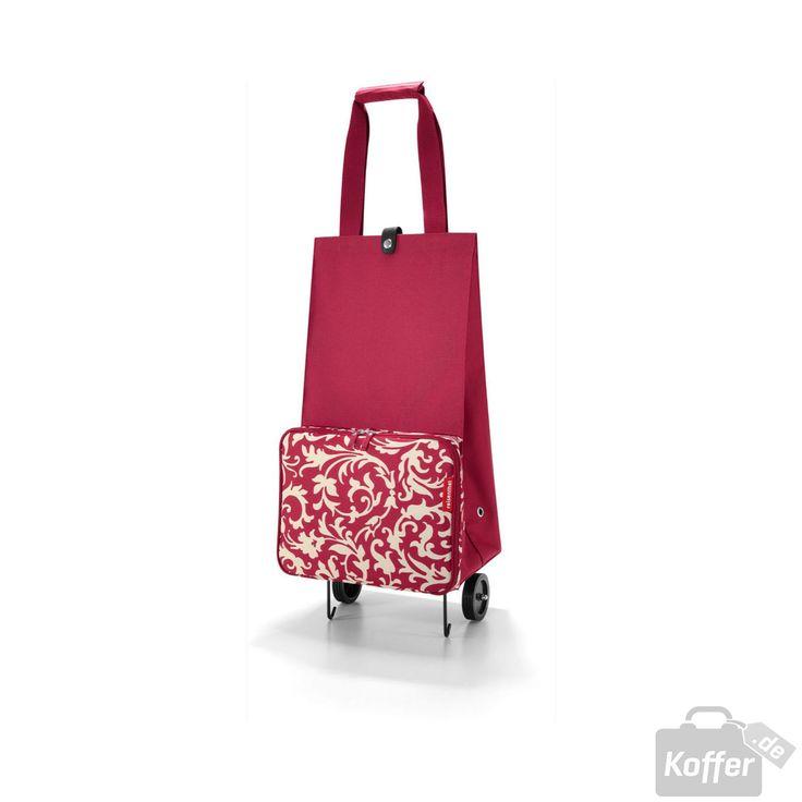 Reisenthel Shopping foldabletrolley baroque ruby