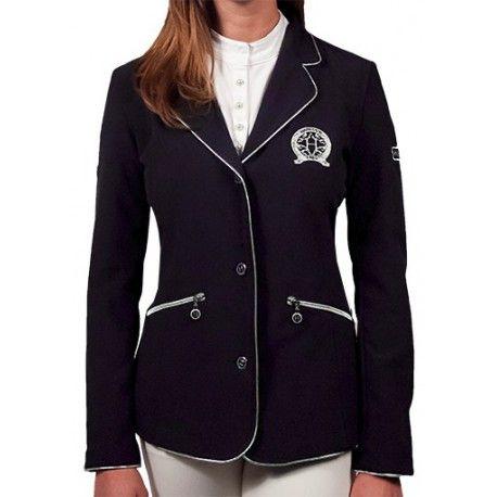 L'Univers du Cheval, boutique en ligne, vente de matériel d'équitation et de vêtements pour cavaliers, Veste de concours Harcour