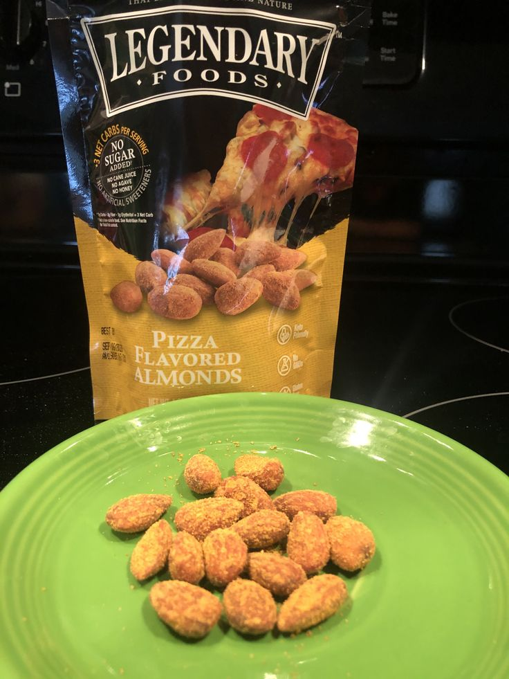 Legendary Foods Pizza Flavored Almonds Review in 2020