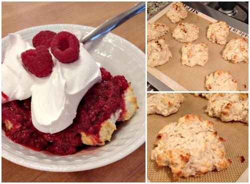 Baking Powder Drop Biscuit Shortcake