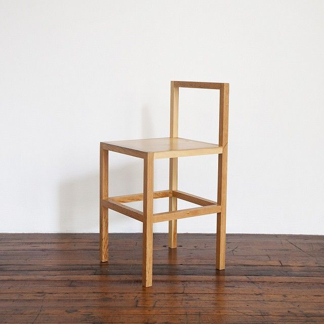 """""""A work of art exists as itself; a chair exists as a chair itself.  And the idea of a chair isn't a chair."""" - Donald Judd, It's Hard to Find a Good Lamp, 1993. Image by @kitchaney of Chair #72 at 101 Spring Street #donaldjudd #juddfurniture #101springstreet"""