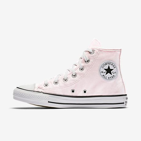 Converse Chuck Taylor All Star Velvet High Top Women's Shoe Size 6 (Pink)