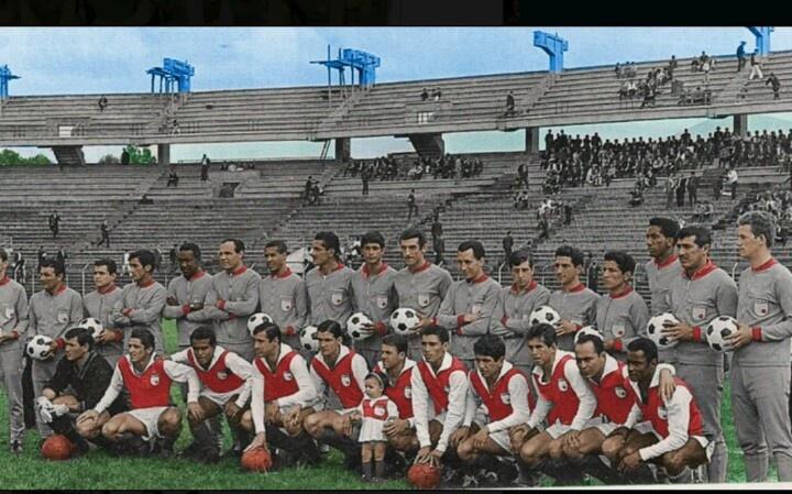 Independiente Santa Fe en la copa libertadores año 1967 :) (Foto)
