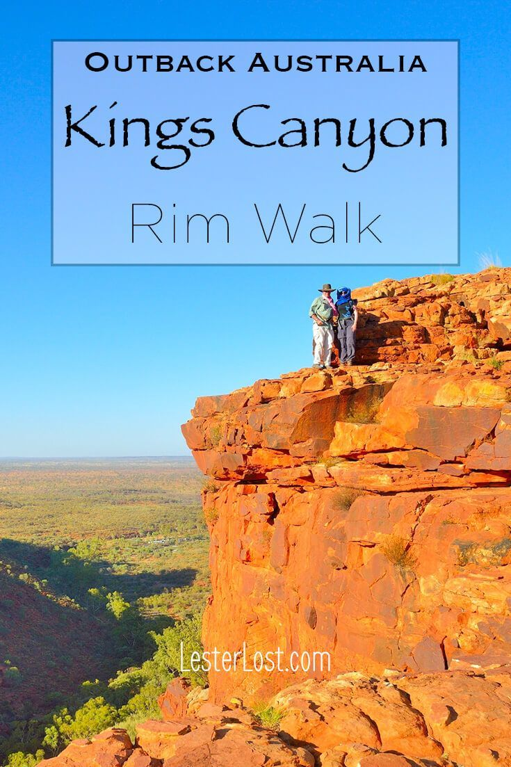 The Kings Canyon Rim Walk is an iconic and rewarding hike in Australia's Red Centre. It's a celebration of Outback Australia. via @Delphine LesterLost