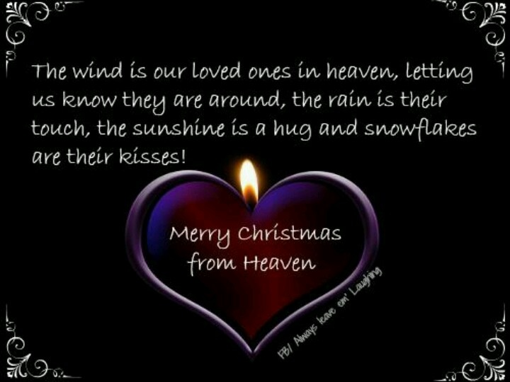 Merry Christmas from Heaven | Quotes & Sayings | Pinterest