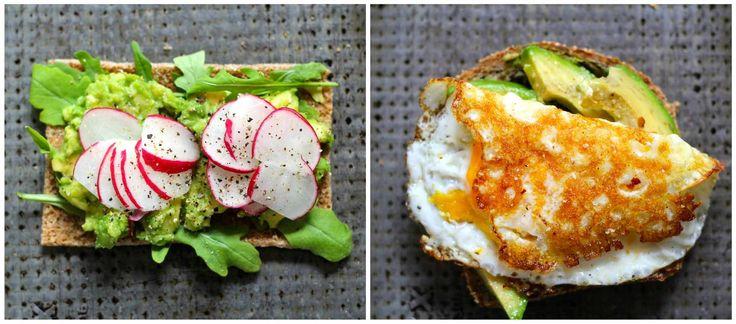 Mat På Bordet | 6 smørbrød med avokado - Mat På Bordet
