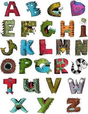 another monster alphabet!!