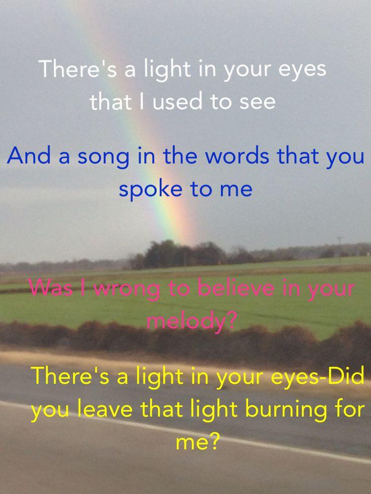 """Light in Your Eyes"""" ~Blessid Union of Souls AMAZING lyrics! So ..."""