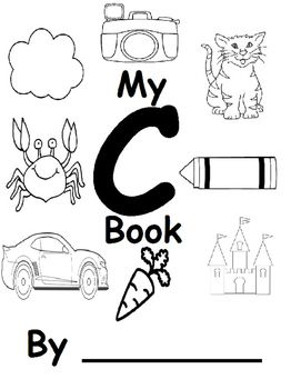 """Adapted for the Letter C. This includes words that start with """"C"""" and """"Make The Letter C"""" song adapted visually based on the Handwriign Without Tears """"Get Set for School"""", song #6."""