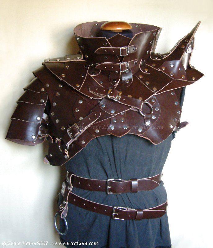 Studded Tunic Leather Armor