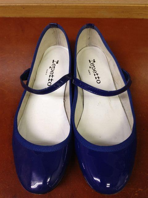 **♪repettoのエナメルシューズのお手入れ♪** - Enjoy shoe care time ! ~ブランド別!靴のお手入れブログ~
