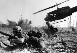 History: The Vietnam war is the war with the biggest american war loss to date and is known because it is the war America lost. Beginning in 1957 and ending in 1975, It had many new inventions such as napalm bombs.