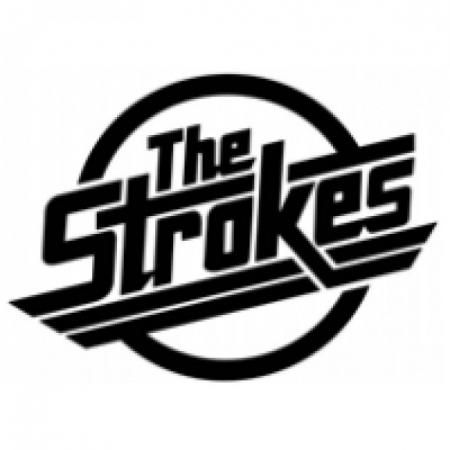 The strokes rock band sticker