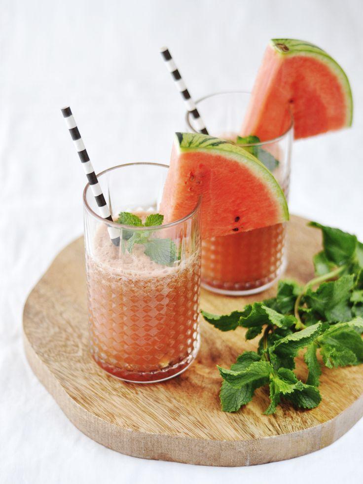 Zomerse Watermeloen Limonade