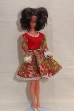 """DDR Mode Puppe """"Steffi"""" original Bekleidung / 60er Jahre"""