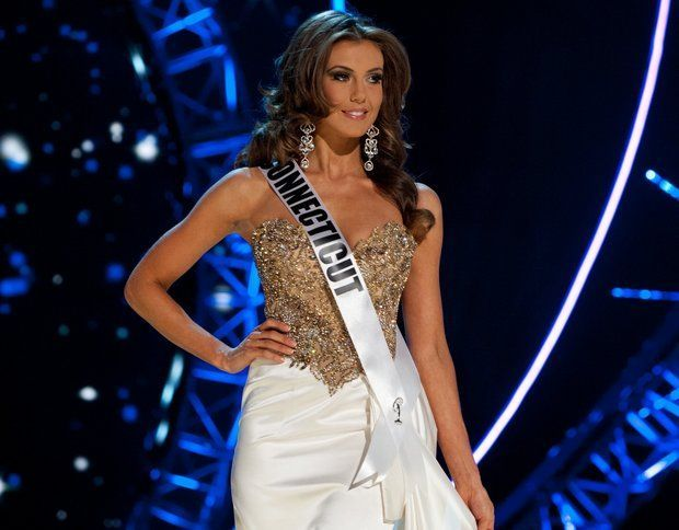 Miss Connecticut, Erin Brady. The new Miss USA 2013