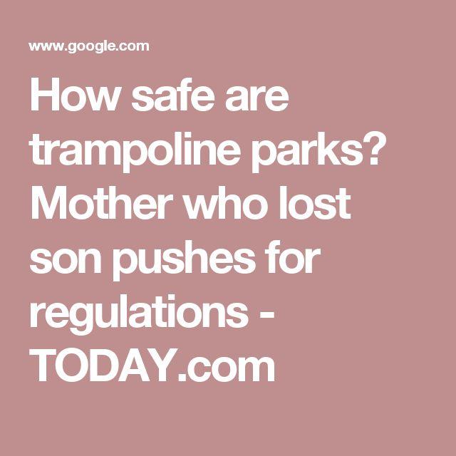 25 Best Ideas About Safe Trampoline On Pinterest