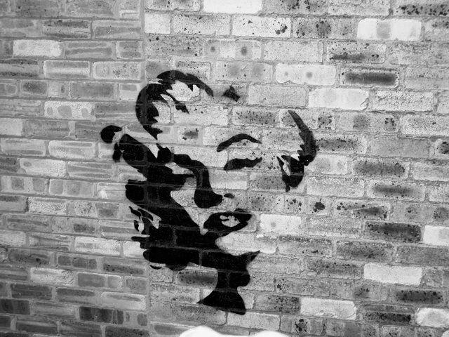 Street Art Featuring Marilyn Monroe