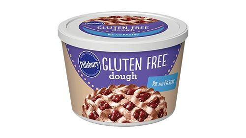 Gluten Free Pie & Pastry Dough (note- pillsbury GF pizza crust contains fructose and is not low FODMAP
