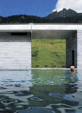 Peter Zumthor Pero también arquitecta: La sencillez de Peter Zumthor