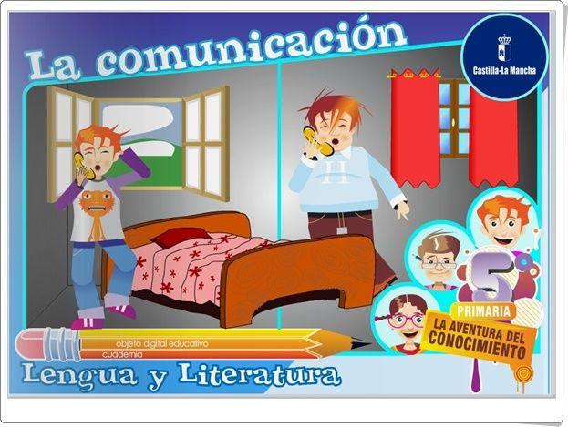 """""""La comunicación"""" (Lengua Española de Primaria)"""