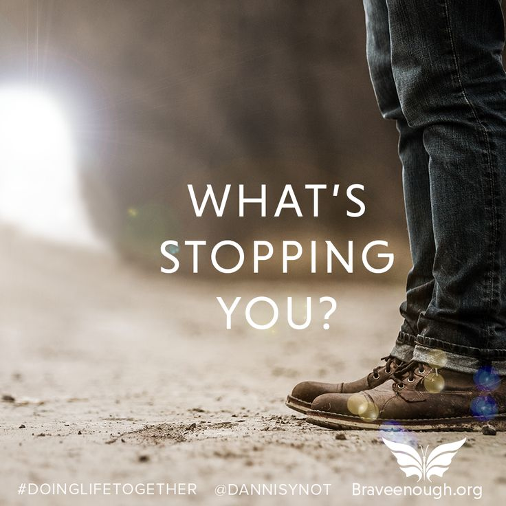 Whats's stopping you?