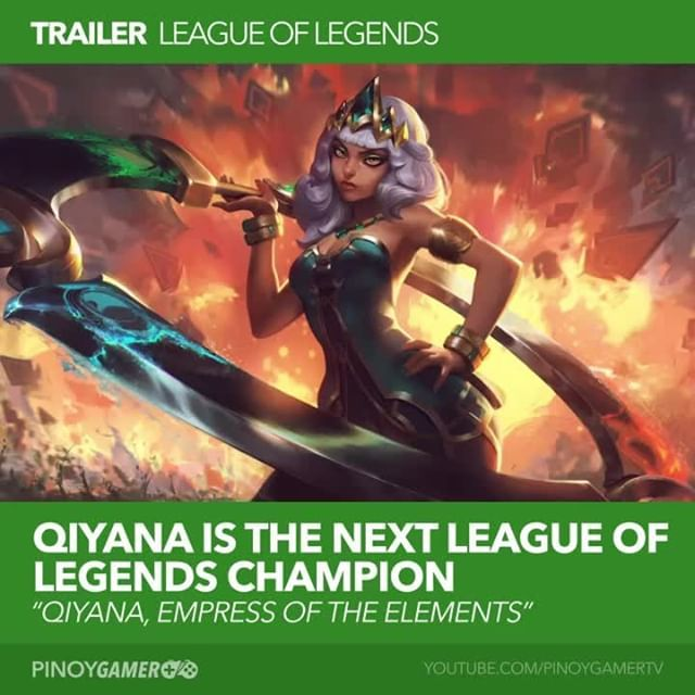 League of Legends Qiyana! Empress of the Elements #Qiyana