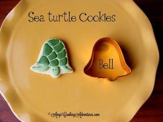 Amy's Confectionery Adventures: Sea Turtle Cookies