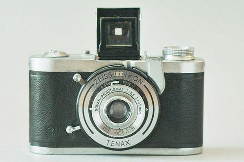 Tenax I a 24×24mm square-format camera using 35mm film.