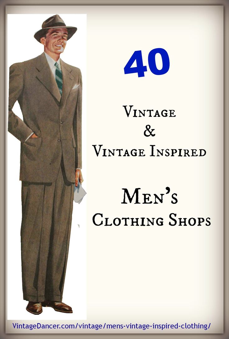 1000  ideas about Men's Vintage Clothing on Pinterest | Hipster ...