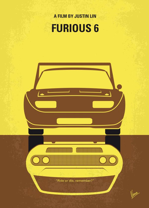"""Fast And Furious 6 Minimalist Movie Poster #Displate artwork by artist """"Chungkong Art"""". Part of an 8-piece set featuring minimalist artwork based on the popular Fast And Furious film franchise. £35 / $50 per poster (Regular size), £71 / $100 per poster (Large size) #TheFastAndTheFurious #2Fast2Furious #TokyoDrift #FastAndFurious #FastAndFurious5 #Fast5 #FastAndFurious6 #FastAndFurious7 #Furious7 #FastAndFurious8 #Fast8 #TheFateOfTheFurious #BrianOConner #DominicToretto #LettyOrtiz"""